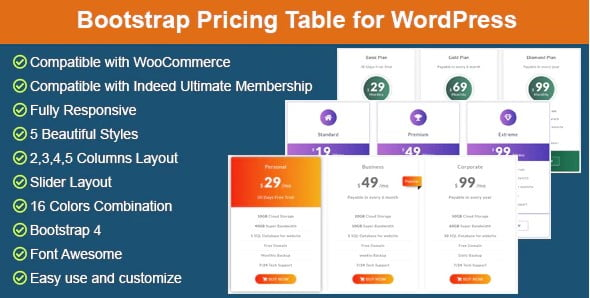 Bootstrap - 35+ Popular Membership Plugins For WordPress [year]