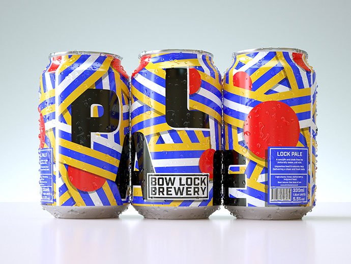 Bow-Lock-Brewery - 38+ Nice Free Pattern Shapes Packaging Designs [year]
