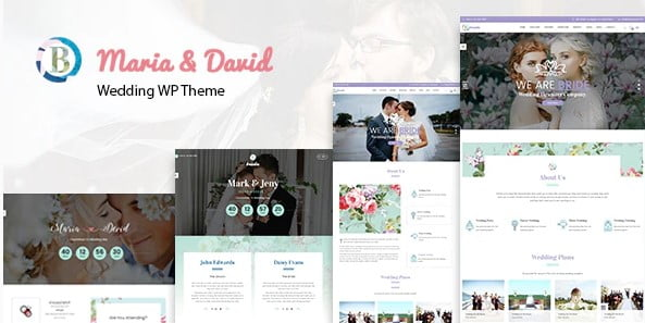 Bride - 37+ Great WordPress Wedding Photography Themes [year]