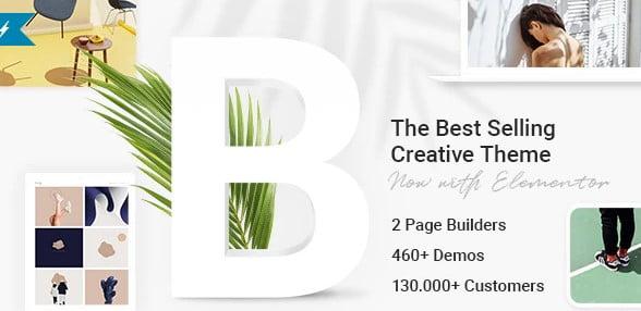 Bridge - 34+ GREAT WordPress Restaurant Landing Page Themes [year]