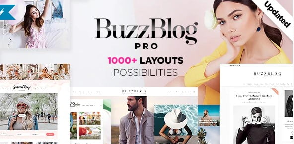 Buzz - 35+ TOP WordPress Lifestyle Themes [year]