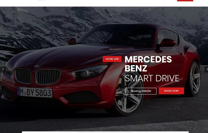 Carena - 30+ Awesome WordPress Car Rental Themes [year]
