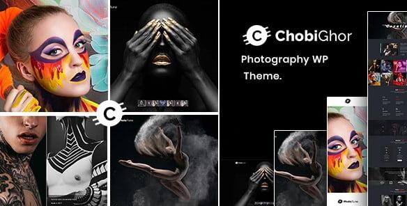 Chobighor - 37+ Great WordPress Wedding Photography Themes [year]