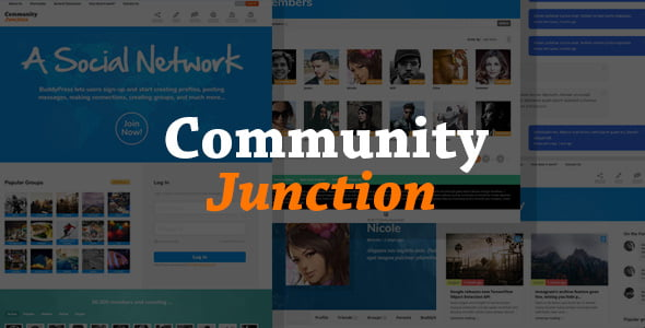 CommunityJunction - 30+ AWESOME WordPress Intranet Themes [year]