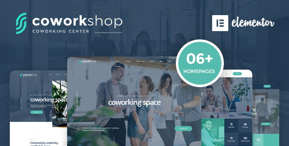 Coworkshop - 35+ TOP WordPress Coworking Space Themes [year]