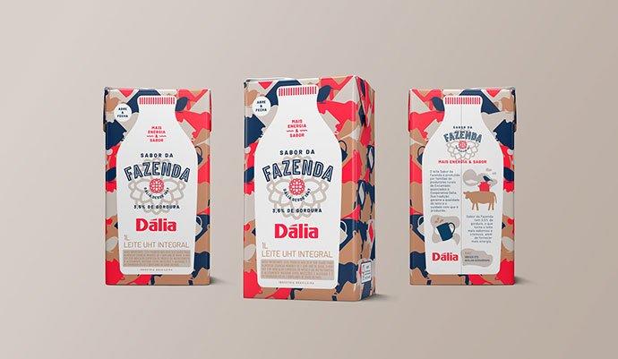 Dalia-Sabor-Da-Fazenda - 38+ Nice Free Pattern Shapes Packaging Designs [year]