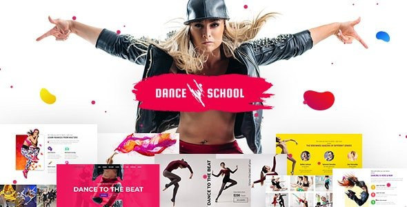 Dance-Studio - 35+ HOT WordPress Dance Studios Themes [year]