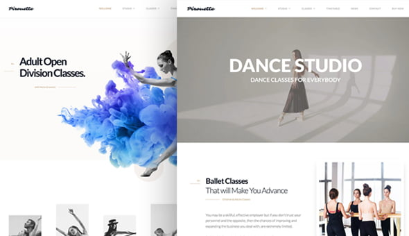 Dance-WordPress-Theme - 35+ HOT WordPress Dance Studios Themes [year]
