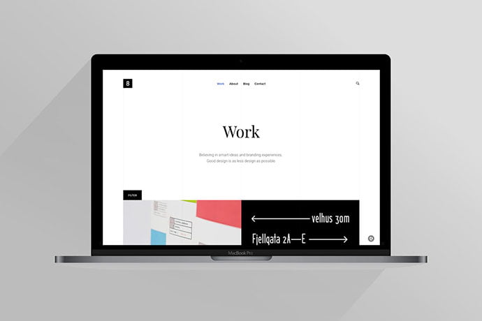 Eight - 35+ NICE CSS HTML Website Templates [year]