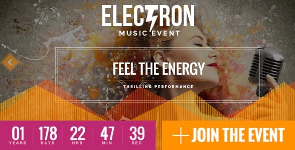 Electron - 35+ HOT WordPress Dance Studios Themes [year]