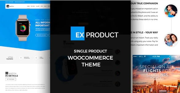 ExProduct - 36+ Awesome WordPress Single Product Themes [year]
