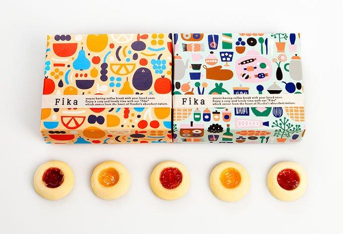 Fika-Scandinavian-Shop - 38+ Nice Free Pattern Shapes Packaging Designs [year]