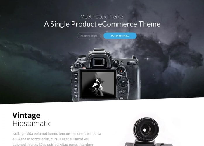 Focux - 36+ Awesome WordPress Single Product Themes [year]