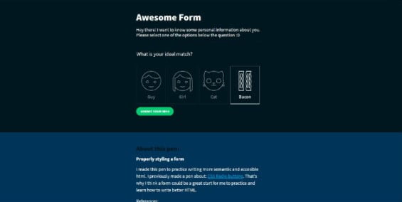 Form-with - 53+ Prime Free CSS Input Field Designs [year]