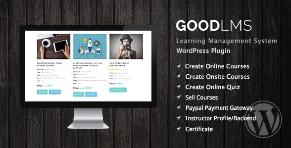 Good-LMS - 35+ Popular Membership Plugins For WordPress [year]