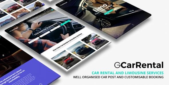 Grand-Car-Rental - 34+ TOP Responsive WordPress Taxi Themes [year]