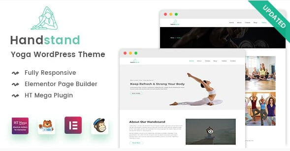 Handstand - 35+ HOT WordPress Dance Studios Themes [year]