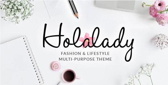 HolaLady - 35+ TOP WordPress Lifestyle Themes [year]