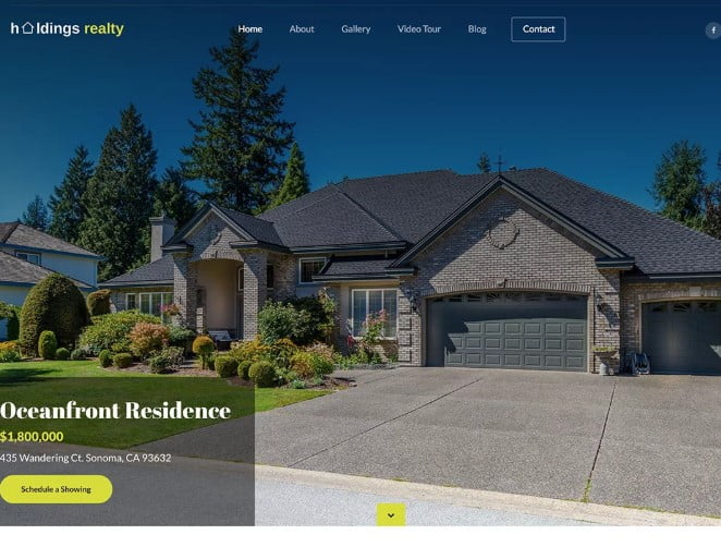 Holdings-Realty - 35+ Stunning WordPress Single Property Themes [year]