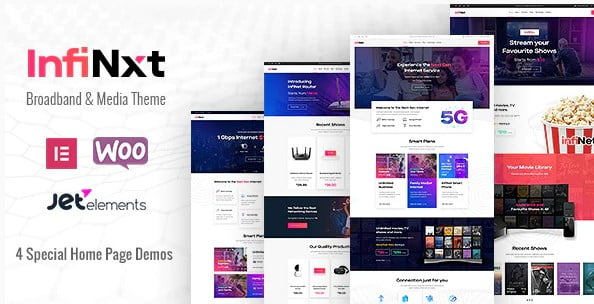 InfiNxt - 30+ AWESOME WordPress Intranet Themes [year]