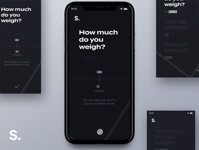 Ios-App-Onboarding - 46+ BEST Free Dark App UI Designs IDEA [year]