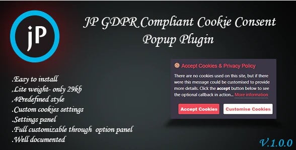 JP-GDPR - 35+ Best WordPress Email PopUP Plugins [year]