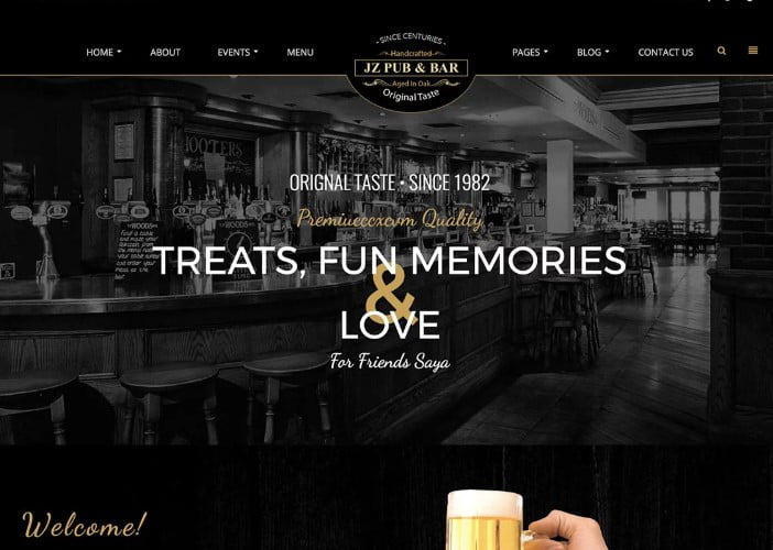 Jz - 35+ AMAZING WordPress Bar & Pub Themes [year]