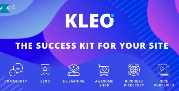 KLEO-2 - 35+ Responsive WordPress Community Themes [year]