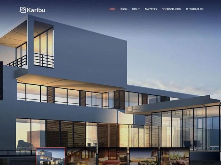 Karib - 35+ Stunning WordPress Single Property Themes [year]