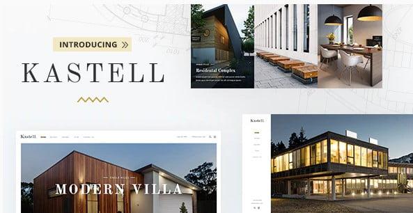 Kastell - 35+ Stunning WordPress Single Property Themes [year]