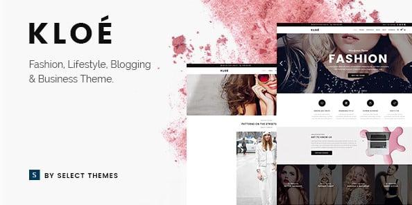 Kloe - 35+ TOP WordPress Lifestyle Themes [year]
