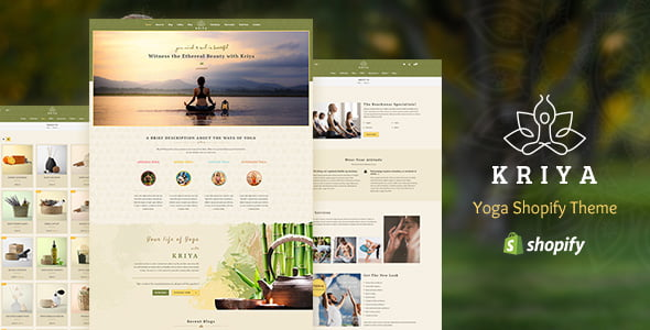 Kriya-Yoga - 35+ HOT WordPress Dance Studios Themes [year]