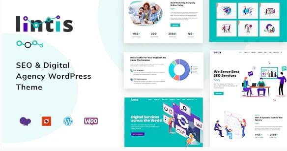 Lintis - 36+ Amazing WordPress SEO Agency Themes [year]