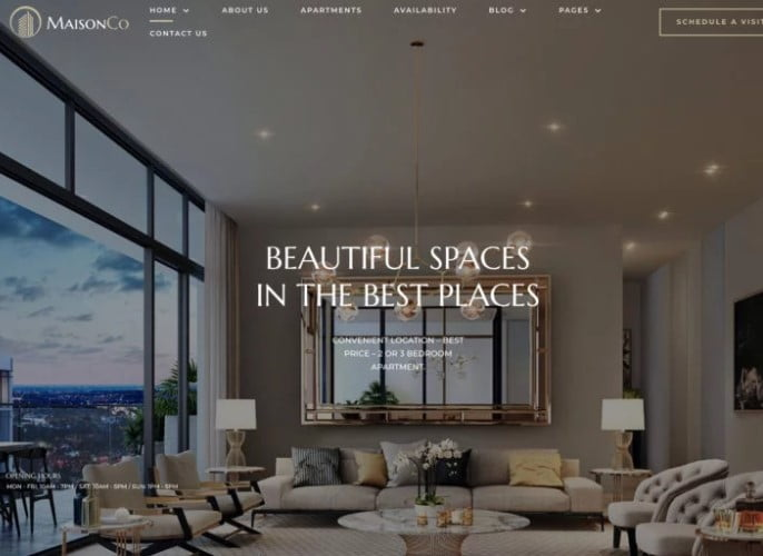 MaisonCo - 35+ Stunning WordPress Single Property Themes [year]