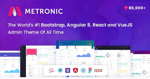 Metronic - 35+ NICE CSS HTML Website Templates [year]