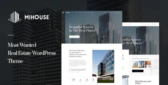 Mihouse - 35+ Stunning WordPress Single Property Themes [year]