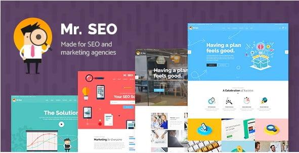 Mr.-SEO - 36+ Amazing WordPress SEO Agency Themes [year]