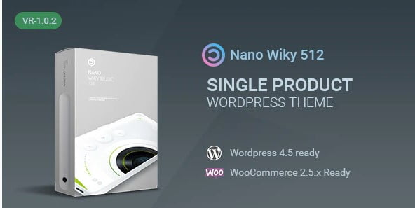Nano - 36+ Awesome WordPress Single Product Themes [year]