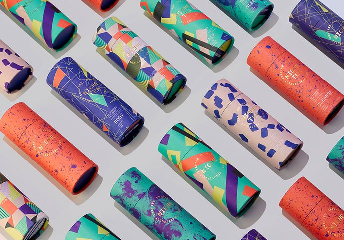 Niche-Tea - 38+ Nice Free Pattern Shapes Packaging Designs [year]