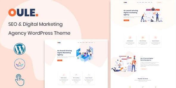 Oule - 36+ Amazing WordPress SEO Agency Themes [year]