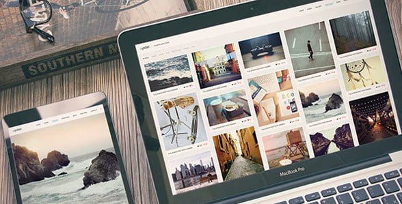 Oyster - 37+ Great WordPress Wedding Photography Themes [year]