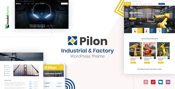 Pilon - 35+ TOP WordPress Coworking Space Themes [year]