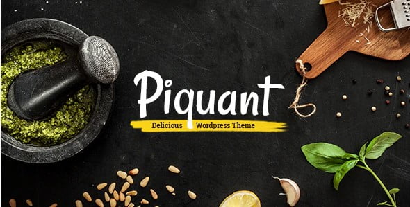 Piquant - 35+ AMAZING WordPress Bar & Pub Themes [year]