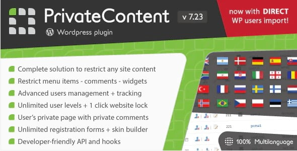 PrivateContent - 35+ Popular Membership Plugins For WordPress [year]