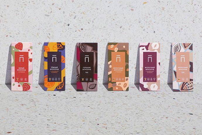 Proportsya-Chocolate - 38+ Nice Free Pattern Shapes Packaging Designs [year]