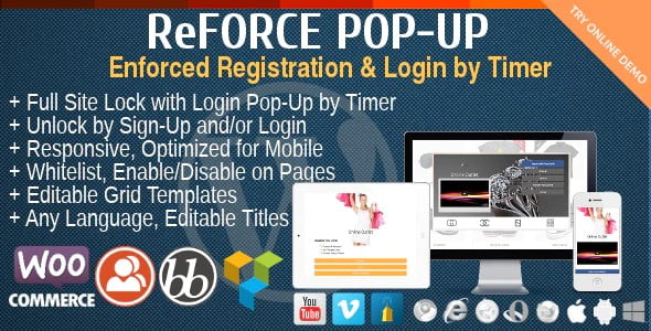 ReForce - 35+ Popular Membership Plugins For WordPress [year]