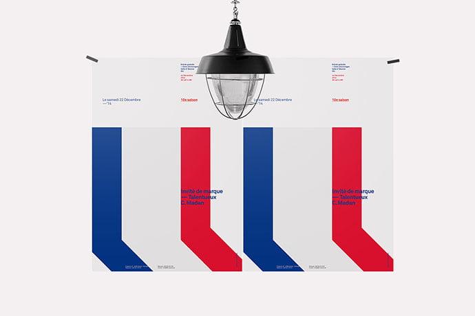 Red-White-Blue-Poster - 36+ AMAZING Free Minimal Illustrations IDEA [year]