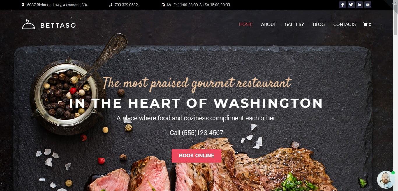 Restaurant-Landing-Page-Themes - 34+ GREAT WordPress Restaurant Landing Page Themes [year]