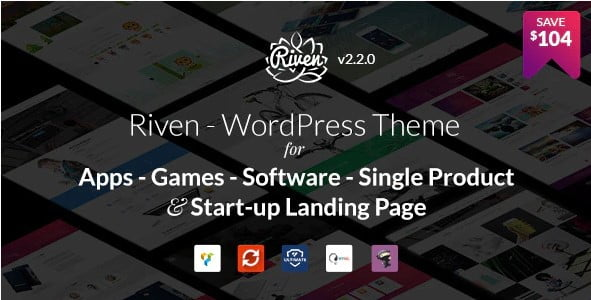 Riven - 36+ Awesome WordPress Single Product Themes [year]