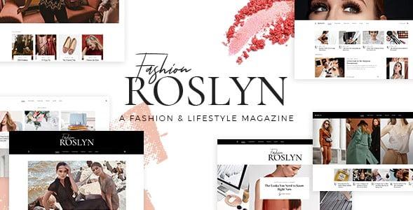 Roslyn - 35+ TOP WordPress Lifestyle Themes [year]